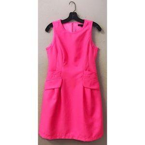 Nanette Lepore Neon Bright Pink Sheath Dress